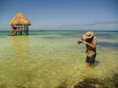 Belize reef island